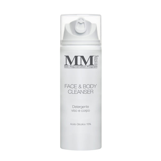 face and body cleanser